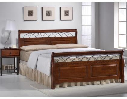 łóżko Drewniane Verona Meble Szczecin Materace Meble
